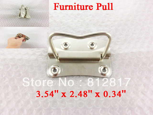 Drawer Sideboard Silver Tone Screw Mount Handle Pull<br><br>Aliexpress
