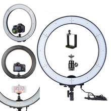 YIXIANG 2 in 1 LA-650D Photo Studio Ring Light LED Video Light Lamp Digital Photographic Lighting 40W 5500K with 600LED Lights