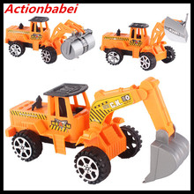 Actionbabei new Creative Large drawing truck excavator Back to the car Fun children's toys Toy car wholesale(China)