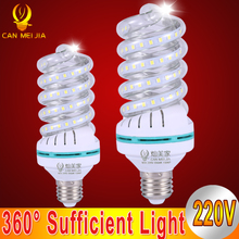 High Lumen Spiral Led Corn Bulb E27 5W 7W 9W 12W 18W 24W 32W LED Lights Bulb 220V Chandelier Lampada Led Spot Light Home Decor