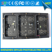 SRY 10mm pixel full color module indoor/semi-outdoor hub 75 1/8 scan 320*160mm 32*16 pixel smd 3 in 1 rgb display p10 led module