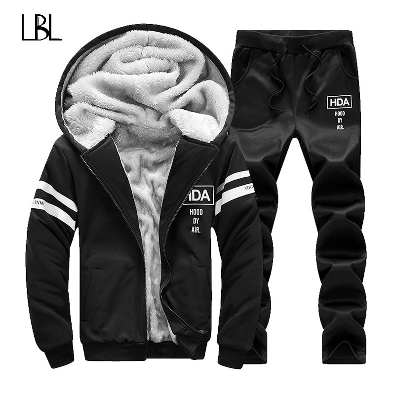Winter-Sporting-Hooded-Brand-Tracksuits-Fleece-Hoodies-Men-Sportswear-Sweatshirts-Set-Mens-Cardigan-Jacket-Pants-2