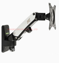 NB F120 27inch retractable air press aluminum swivel LCD PLASMA tv bracket lcd wall mount monitor bracket stand holder