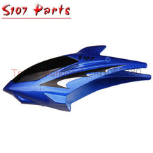 free shipping Syma S107 Plastic Canopy Head Cover Spare Parts For RC S107 S107G Helicopter parts s107 parts(China)