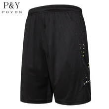 New Summer Quick Dry Men's Sports Shorts Elastic Waist Men Running Shorts With Zipper Pocket Reflective Stripe Jogging Shorts