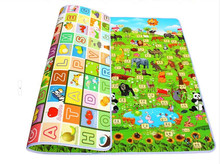 new arrival baby boy girl safe fun cartoon floor Mat double-faced beach Picnic foam Play Mat Kids Climb Blanket