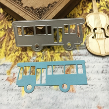 New Design Car Bus Model Metal Cutting Die Scrapbooking DIY Handmade Craft Carbon Steel Template Album Paper Card Decoration(China)