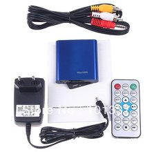 JEDX mini Media Player 1080P Full HD multimedia player with IR remote MKV/RM-SD/USB/SDHC/MMC HDD-HDMI(BOXCHIP F10)