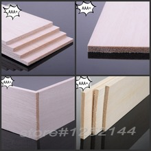 AAA+ Balsa Wood Sheet ply 310mm long 100mm wide 1~10mm thick super quality for airplane/boat model DIY free shipping