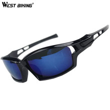 WEST BIKING Sports Outdoors Campin Windproof glasses Cycling eyewear Bicycle Glasses Skiing Bike Glasses MTB Cycling Glasses