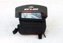 "GUB 910 5.5"" inch Waterproof Outdoor Cycling MTB Bike Giant Merida Bicycle Bag Frame Front Tube Bag Touchscreen Phone Case"