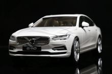 Diecast Car Model Volvo S90 1:18 (White) + SMALL GIFT!!!!!!!!!!!