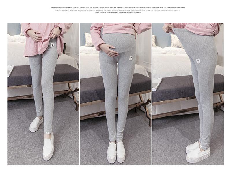 Plus Size Winter Velvet Pregnancy Leggings Pants For Pregnant Women Maternity Leggings Warm Clothes Thickening Trousers Clothing 7
