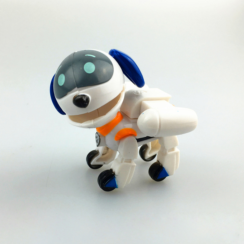 AUTOPS 2016 White Patrol Dog With Shield Anime Toys Action Figure dog Kid Toy Puppy Patrol Patrulla Canina Toys For Child Gift<br><br>Aliexpress