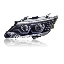 Ownsun High Quality Eagle Eyes LED DRL Bi-xenon Projector Lens Headlights For Toyota Camry 2015(China)
