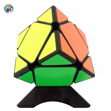 Shengshou Aurora Skewb Magic Cube Black/White Stickers 3x3x3 Puzzle Special Toys For Children Fidget Cube