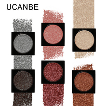 Ucanbe Shimmer Eye Shadow Single Palette 26 Colors DIY Pressed Eyeshadow Lasting Pigment Matte Nude Natural Minerals Make Up(China)