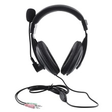 Gaming headset Headphones Big Earphone with Microphone for PC Computer Player Skype Phone