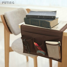 Sofa Couch Organizer Storage Remote Control Holder Table Bag Bedside Pocket Hot