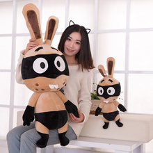 Soft Giant Cute Kawaii Plush Pirate Rabbit Large Baby Doll Anime Toy Bunny Stuffed Dolls Animal Toy Plush Christmas 50T0193(China)