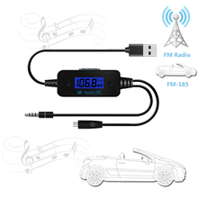 FM185 fm transmitter bluetooth mp3   car FM transmitters FM transmitter 35mm audio interface mobile phone FM transmitters