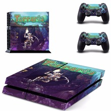 Buy Game Terraria PS4 Skin Sticker Decal Sony PlayStation 4 Console 2 Controllers PS4 Skins Sticker Vinyl for $7.99 in AliExpress store