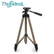 Thundeal WT3130 Holder Projector Camera Tripod Stand for Canon Nikon Sony DSLR Camera Camcorder Tripod Stand with Rocker Arm