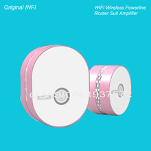 New Wireless WIFI Net Router 2.4G Amplifier Powerline Carrier 200M One Main Router+One Extender Plug Play  AC90-250V Smart Home