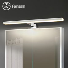 Fensalir 5W/6W Led Mirror Light Wall Mounted Bathroom Lamp AC110-220V Aluminum+ABS+Acryl 30/40/50 CM Indoor Wall Lamp ML002-300A(China)