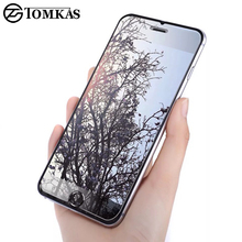 TOMKAS 5 5S Tempered Glass Screen Protector For iPhone 5 5S SE 0.3MM Premium Protective Toughened Film For iphone 5 5S SE Glass(China)