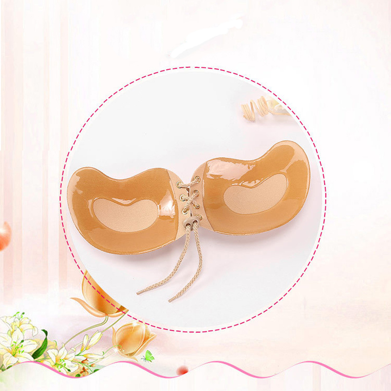 Seamless Invisible Bra Adhesive Silicone Backless Bralette Strapless Push Up Bra Sexy Lingerie Fly Bra Women Underwear 16