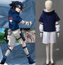 NARUTO anime cosplay Uchiha Sasuke costume halloween kids costumes