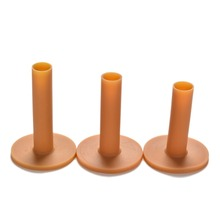 Rubber Golf Tee Holder 60mm 70mm 80mm Training Practice Tee Mat Golves Ball Hole Holders Beginner Trainer Practice 3 Pcs/lot(China)