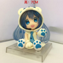 new GK Song sound figure anime model collectible noob Bear sound figure Blue super-Meng clay with box gift toys T7053
