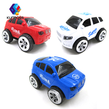3Pcs/Set Kids Toy Car miniature truck plastic Rotate 360 degrees Toy Vehicles red white blue car toys for children