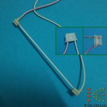 For 5.7inch 100mmx2.0mm CCFL Backlight Lamps with wire harness for LCD Laptop Display Industrial Screen Panel 2pcs/lot
