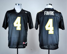 Nike Southern Miss Golden Eagles #4 Brett Favre White Greats and Glory Throwback College Ice Hockey Jerseys(China)