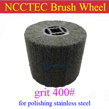 grit 400 NCCTEC Stainless steel wire drawing wheel brush FREE shipping | install in NCCTEC NSDM950 stainless steel grinder(China)