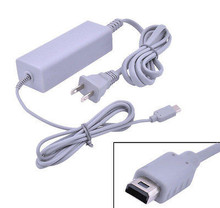 100~240V US Plug Home Wall AC Adapter Power Supply Charger Charging for Nintendo Wii U Gamepad
