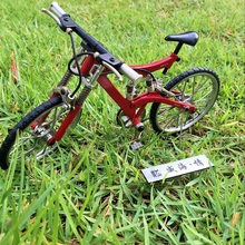 diy miniature metal assembled interestin bicycle model mountain bike bicycle toys for children kids birthday Christmas gift