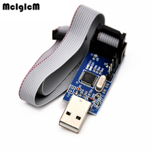 MCIGICM 1pcs YS-38 USB ISP Programmer for ATMEL AVR ATMega ATTiny 51 AVR Board ISP USBISP Hot sale