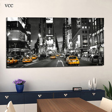 VCC Modern Canvas Paintings On The Quadros Wall Pictures For Living Room Times Square New York City Cuadros Decoration Unframed