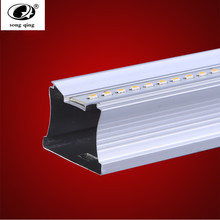 PVC Plastic 12W 7W LED Tube T5 Light 110V 220V 240V 55cm 30cm led T5 lamp led wall lamp Warm Cold White led fluorescent T5 neon(China)