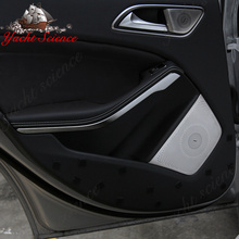 Car Audio Speaker Door Loudspeaker Trim Cover Burmester Design Interior Mouldings Decoration for benz A GLA CLA CLASS