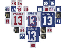 new york ny giants jerseys custom Odell Beckham jr youth eli manning lawrence taylor Vapor Untouchable color rush american(China)