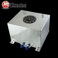 VR RACING - 30L Aluminium Fuel Surge tank mirror polished Fuel cell foam inside, without sensor VR-TK67(China)