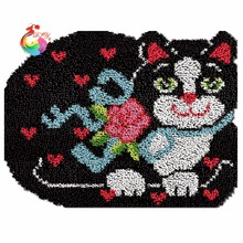 Latch hook rug kits tool kit in a suitcase sets for embroidery stitch thread embroidered carpet mats(China)