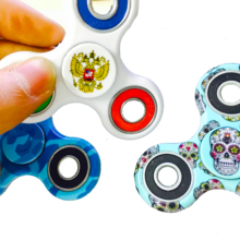 Buy Russian Flag Fidget Spinner Plastic EDC Anti Stress spiner Toys Hand Spinner Autism antistress, spiner Luminous for $1.39 in AliExpress store