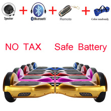 Scrachproof 6.5 inch Hoverboard Scooter Electric Skateboards Oxboard Balancing Hover Boards Overboard Patinete Electrico - ShenZhen SameZone Hi-Tech CO.,LTD store