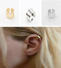 EJ0315  European and American trade fashion personality simple non-piercing ear cuff ear clip earrings Ms. jewelry factory direc